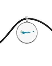 Best Friend Heeler Cord Circle Necklace thumbnail