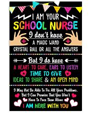 I Am Your School Nurse 11x17 Poster front