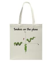 Snakes On The Plane Teacher Tote Bag thumbnail