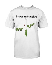 Snakes On The Plane Teacher Classic T-Shirt front
