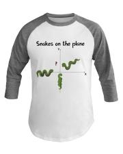 Snakes On The Plane Teacher Baseball Tee thumbnail