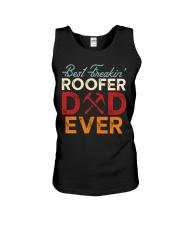 Best Freakin' Roofer Dad Ever Unisex Tank thumbnail