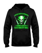 Electrician Power Hooded Sweatshirt thumbnail