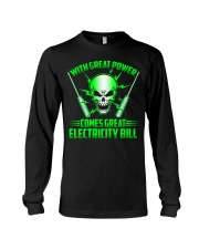 Electrician Power Long Sleeve Tee thumbnail