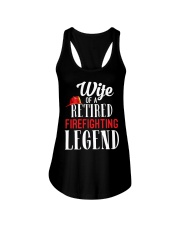 Wife Of A Ritired Firefighter Legend Ladies Flowy Tank thumbnail
