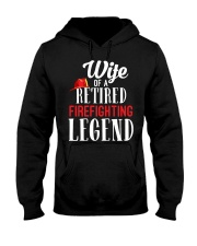 Wife Of A Ritired Firefighter Legend Hooded Sweatshirt thumbnail