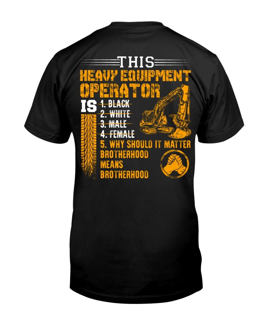 Heavy Equipment Operator Brotherhood Classic T-Shirt