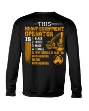 Heavy Equipment Operator Brotherhood Crewneck Sweatshirt thumbnail
