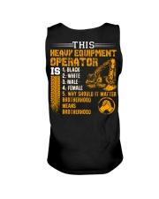 Heavy Equipment Operator Brotherhood Unisex Tank thumbnail