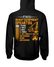 Heavy Equipment Operator Brotherhood Hooded Sweatshirt thumbnail