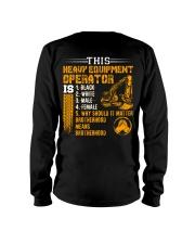 Heavy Equipment Operator Brotherhood Long Sleeve Tee thumbnail