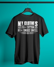 My Clothes Cotton Smoke Smell Classic T-Shirt lifestyle-mens-crewneck-front-3