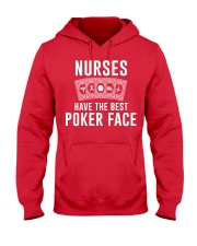 Nurse Have The Best Poker Face Hooded Sweatshirt thumbnail