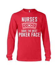 Nurse Have The Best Poker Face Long Sleeve Tee thumbnail