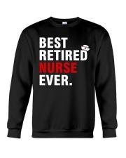 Best Retired Nurse Ever Crewneck Sweatshirt thumbnail