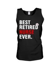 Best Retired Nurse Ever Unisex Tank thumbnail