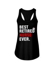 Best Retired Nurse Ever Ladies Flowy Tank thumbnail