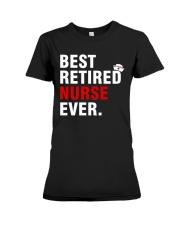 Best Retired Nurse Ever Premium Fit Ladies Tee thumbnail