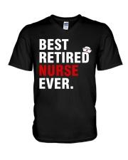 Best Retired Nurse Ever V-Neck T-Shirt thumbnail