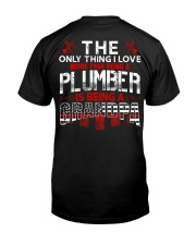 Plumber Is Being A Grandpa Classic T-Shirt back