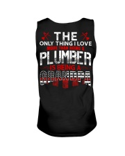 Plumber Is Being A Grandpa Unisex Tank thumbnail