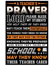 A Teacher's Prayer Poster 11x17 Poster front