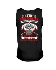 Retired firefighter Don't be so quick to judge Unisex Tank thumbnail