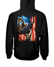 Heavy Equipment Operator Flag Hooded Sweatshirt tile