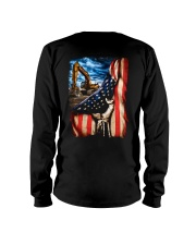 Heavy Equipment Operator Flag Long Sleeve Tee thumbnail