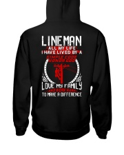 Linema All my life I have lived by a simple code Hooded Sweatshirt thumbnail