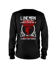 Linema All my life I have lived by a simple code Long Sleeve Tee thumbnail