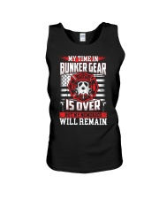 My Time In Bunker Gear Is Over But My Memories Unisex Tank thumbnail