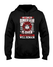 My Time In Bunker Gear Is Over But My Memories Hooded Sweatshirt thumbnail