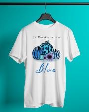 In November We Wear Blue Nurse Classic T-Shirt lifestyle-mens-crewneck-front-3