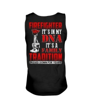 Firefighter It's In  My DNA iT'S A Family Traditio Unisex Tank thumbnail