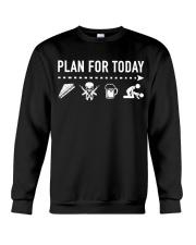 Plan For Today Veteran Crewneck Sweatshirt thumbnail