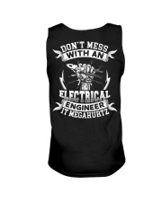 Don't Mess With An Electrical engineer it megahurt Unisex Tank thumbnail
