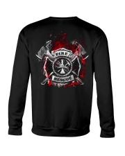 Firefighter Fire Rescue Crewneck Sweatshirt thumbnail