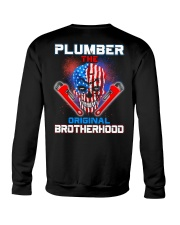 Plumber The Original Brotherhood Crewneck Sweatshirt thumbnail