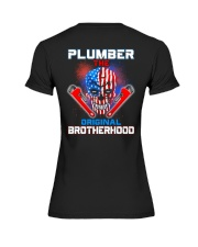 Plumber The Original Brotherhood Premium Fit Ladies Tee thumbnail