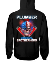 Plumber The Original Brotherhood Hooded Sweatshirt thumbnail