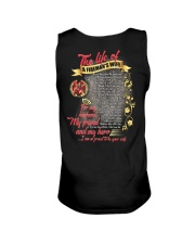 The Life Of A Fireman's Wife Unisex Tank thumbnail