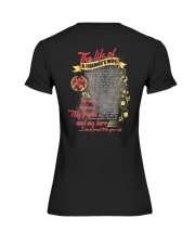 The Life Of A Fireman's Wife Premium Fit Ladies Tee thumbnail