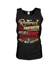Retired Firefighter Just Like A Regular Unisex Tank thumbnail