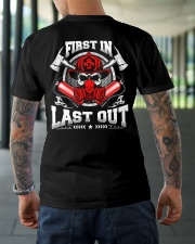 First In Last Out Classic T-Shirt lifestyle-mens-crewneck-back-3