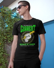 Electrician Keeper Of The Current Classic T-Shirt apparel-classic-tshirt-lifestyle-17