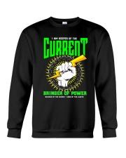 Electrician Keeper Of The Current Crewneck Sweatshirt thumbnail