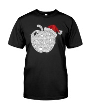 Apple Teacher Shirt Classic T-Shirt front
