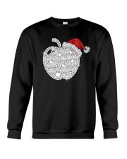 Apple Teacher Shirt Crewneck Sweatshirt thumbnail
