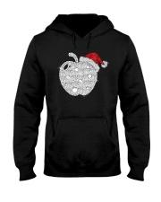 Apple Teacher Shirt Hooded Sweatshirt thumbnail